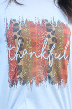 "Load image into Gallery viewer, ""Thankful"" White Tee"