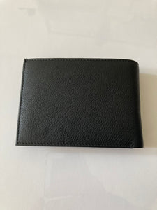 Bifold Wallet with pullout license holder