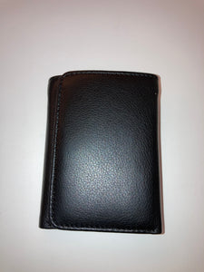 Women's Trifold Wallet with Coin Pocket and Snap Closure