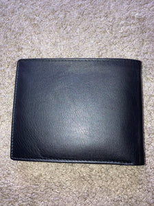 Bifold Wallet with center flap