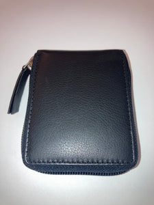 Credit Card Case with Zipper
