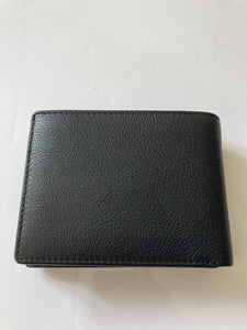 Bifold Wallet with 2 flaps