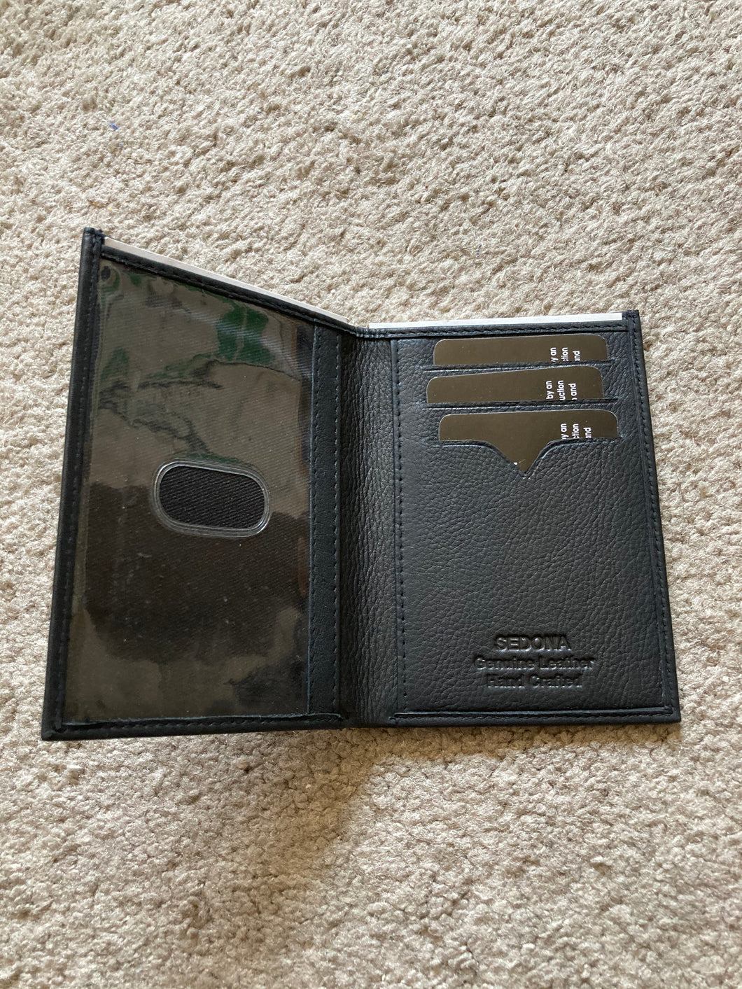 Slim Large ID Wallet
