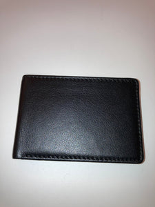 Skinny leather Bifold Wallet
