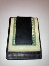 Load image into Gallery viewer, Magnetic Bifold Money Clip Wallet Super Strength