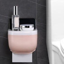 Load image into Gallery viewer, Mobile Phone Rack Paper Towel Box Waterproof Toilet Paper Holder Mobile Phone Storage Shelf Wall Mounted Rack New