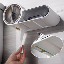 Load image into Gallery viewer, Multifunctional Toilet Paper Holder Rack Waterproof Wall-Mounted Toilet Tissue Box Roll Paper Storage Box Bathroom Accessories