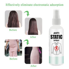 Load image into Gallery viewer, 30/100ML Anti-static spray Anti-Static Cloth Hair Spray Effectively Eliminates Static Cling Household cleaning#