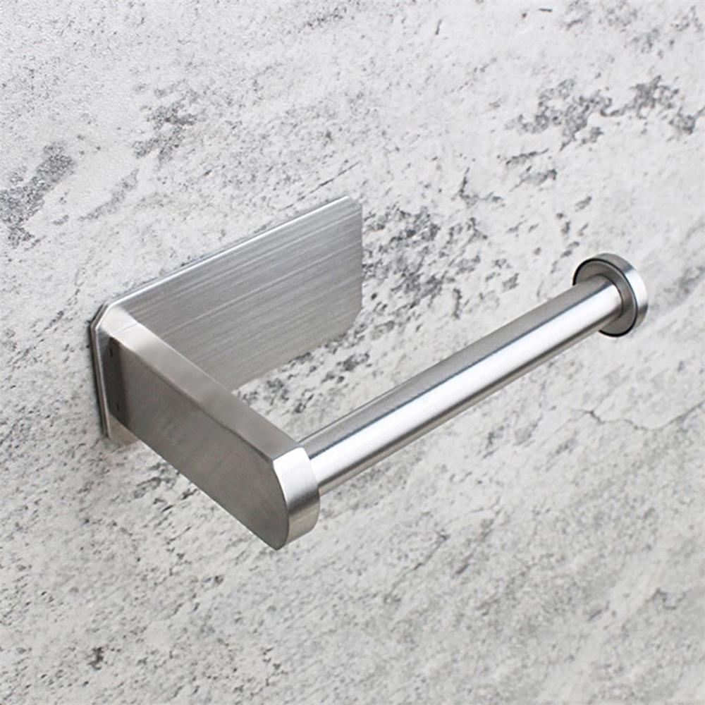 Toilet Wall Mount Toilet Paper Holder Stainless Steel Bathroom kitchen roll paper Accessory tissue towel accessories holders