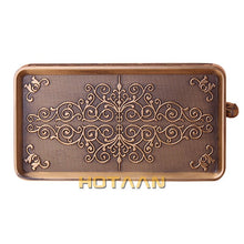 Load image into Gallery viewer, Antique Brass Toilet Paper Holder Bathroom Mobile Holder Toilet Tssue Paper Roll Holder Bathroom Storage Rack Accessory YT-1492B