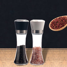 Load image into Gallery viewer, Salt and Pepper Mill Kitchen Salt And Pepper Grinder 6oz Stainless Steel Mill Shakers Easy  Use Seasoning Condiment Jar Holder *