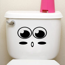 Load image into Gallery viewer, big mouth toilet stickers wall decorations 342. diy vinyl adesivos de paredes home decal mual art waterproof posters paper 7.0