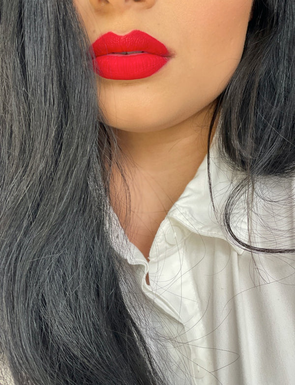 True Red Liquid Lipstick- I AM AMBITIOUS
