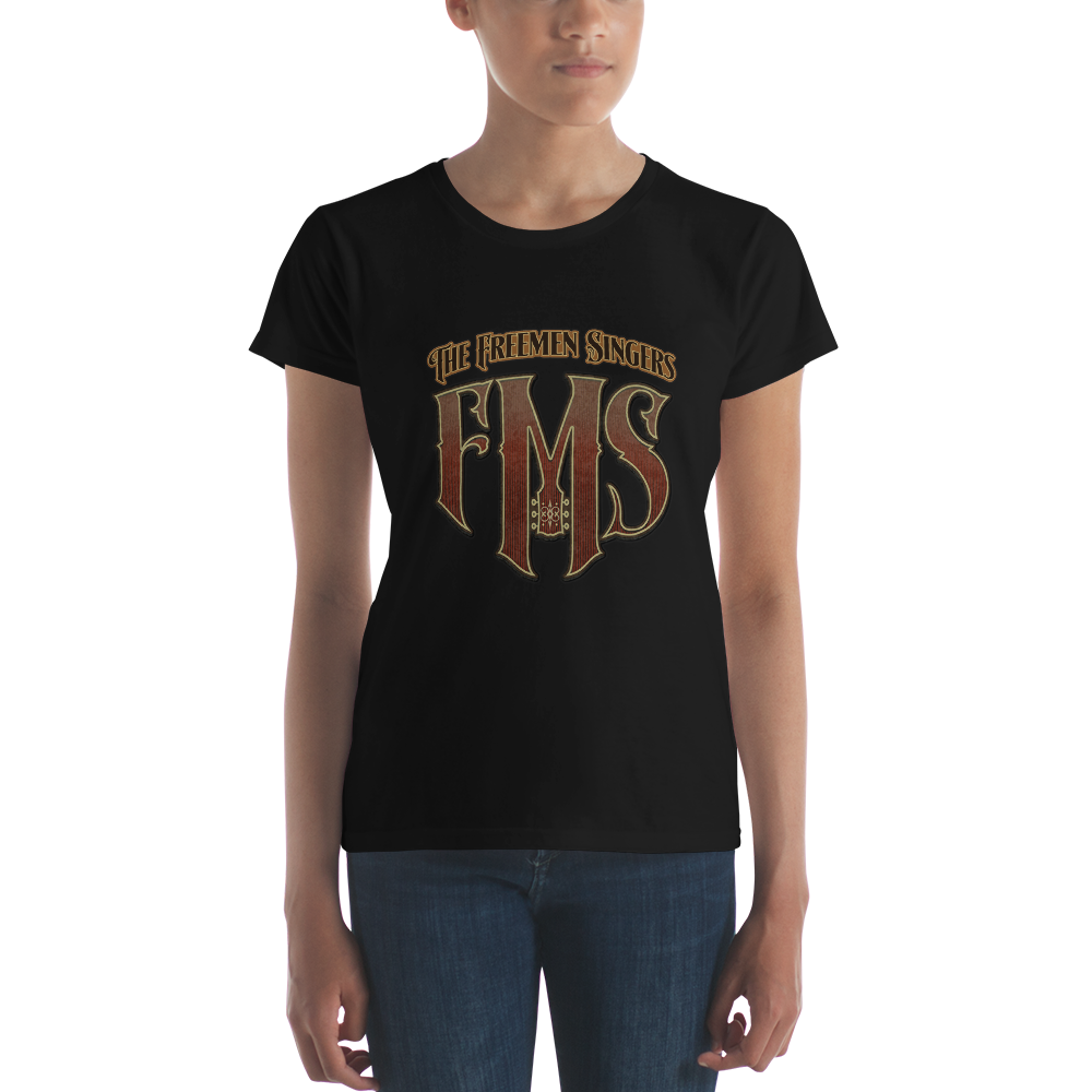 FMS-10051 Fashion Fit-T-Shirt #freemensingers