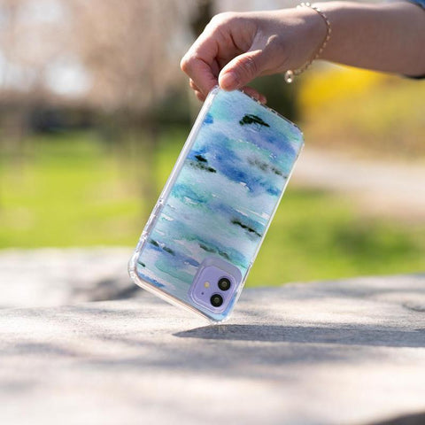 Watercolor Art Custom Phone Case For iPhone and Samsung