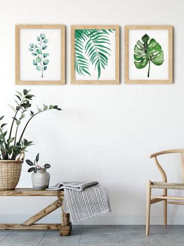 Watercolor Botanical Wall Art Prints