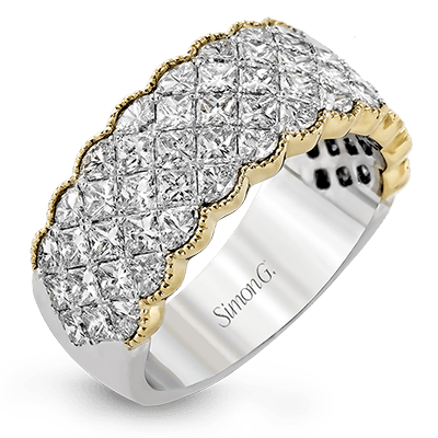 Simon-set Anniversary Ring MR1911