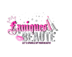 Fanique's Beaute Emporium official logo. Specializing in custom jewelry, lip gloss, eyelashes and much more!