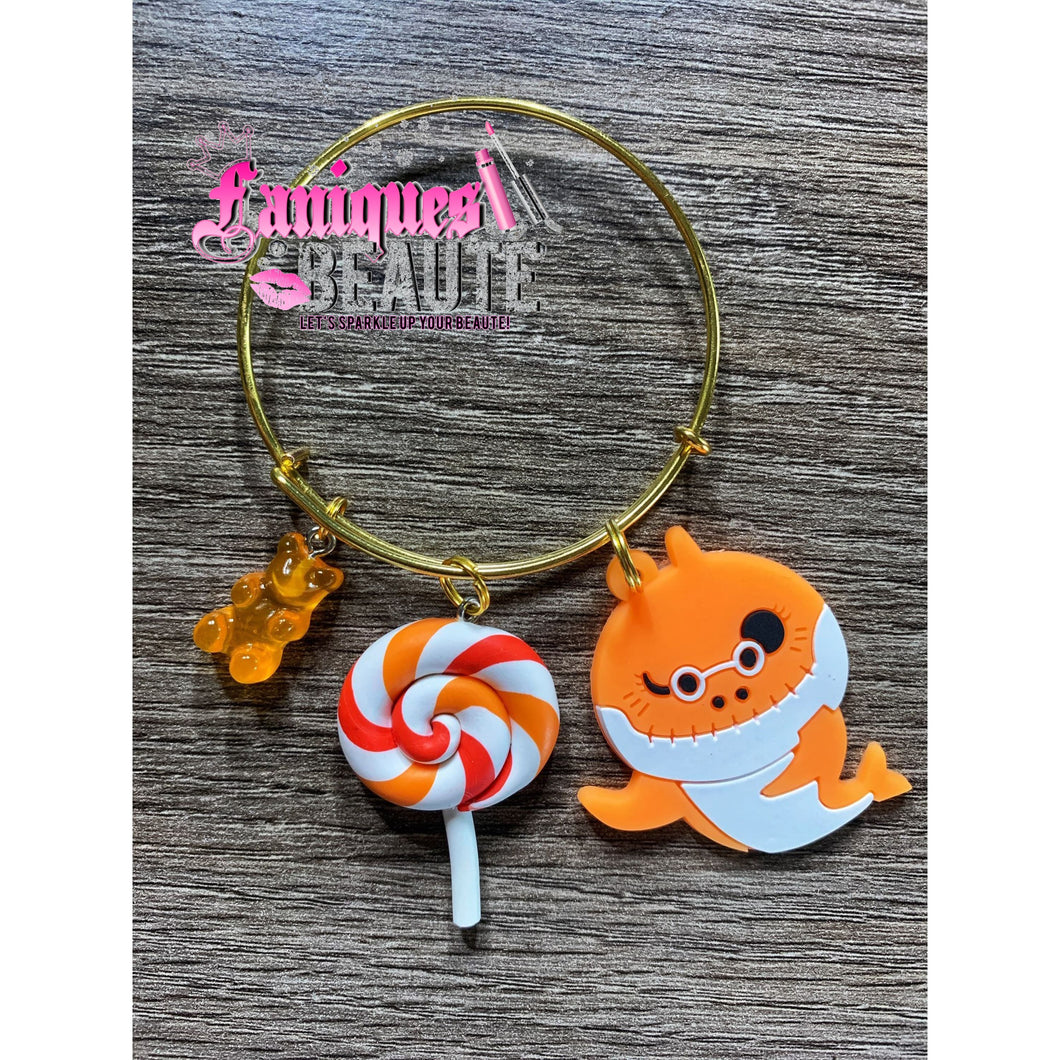 Candy Shark ~ Children's Bangle - Faniques Beaute Emporium