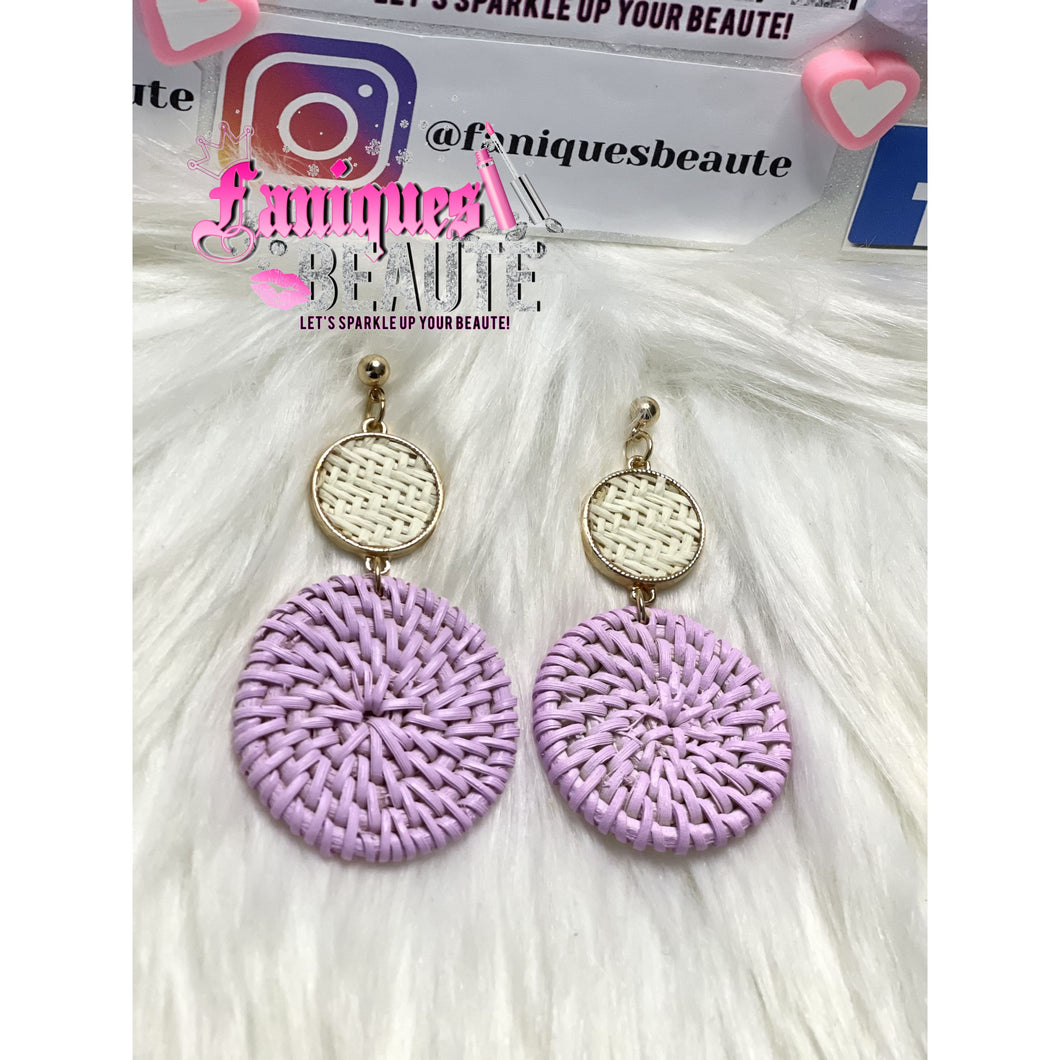 Classy Baskets - Fashion Earrings