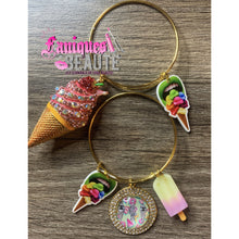 Load image into Gallery viewer, Get You A Scoop ~ Adult Adjustable Bangle Set - Faniques Beaute Emporium