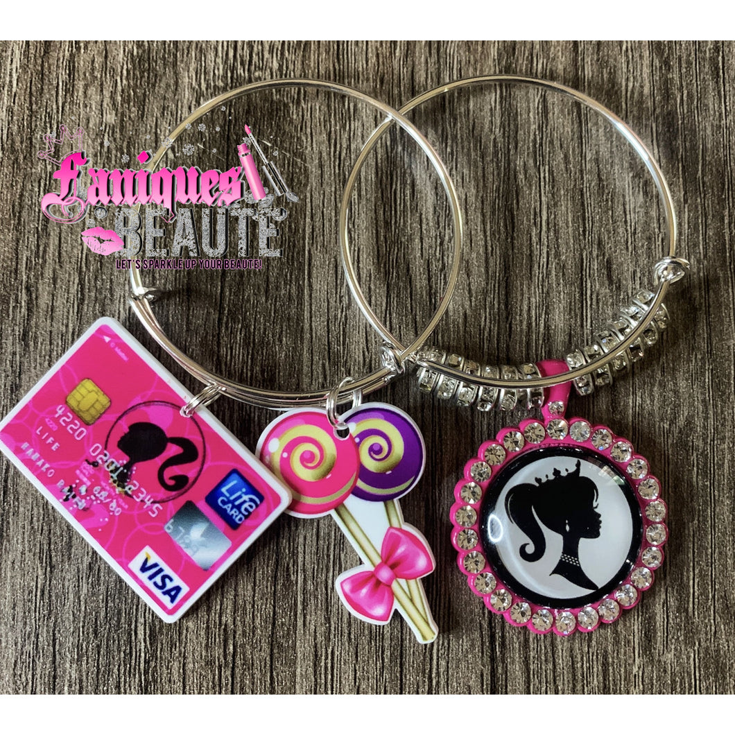 It's Barbie ~ Children's Bangle Set - Faniques Beaute Emporium