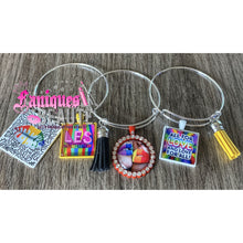 Load image into Gallery viewer, It's In the Pride ~ Adult Adjustable Bangle Set - Faniques Beaute Emporium