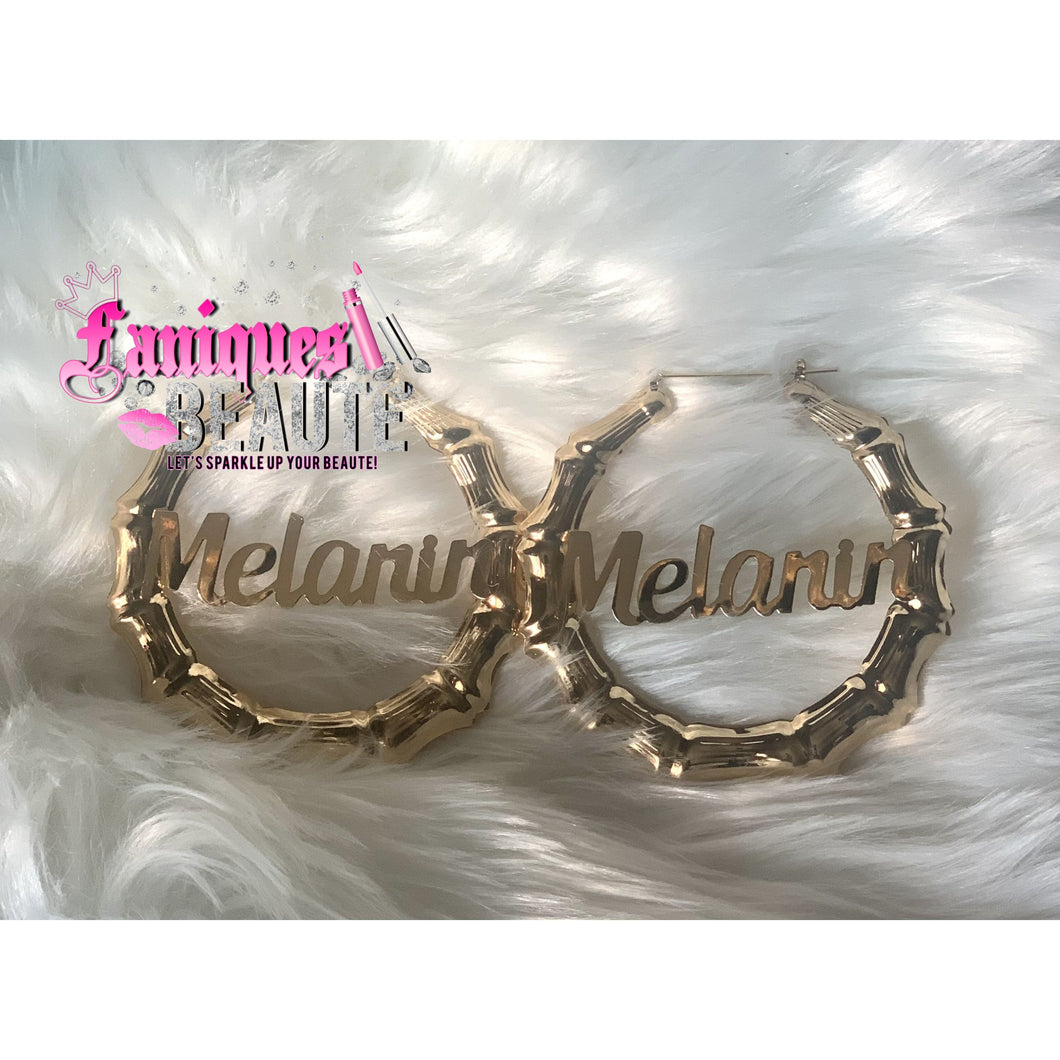 It's the Melanin For Me - Fashion Earrings