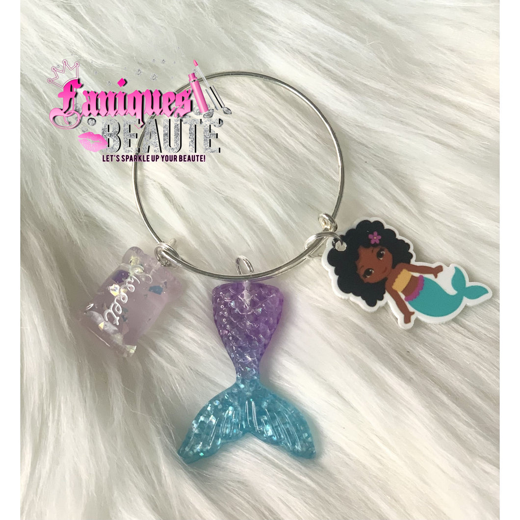 Mermaid Princess ~ Children's Bangle - Faniques Beaute Emporium