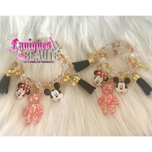 Load image into Gallery viewer, Minnie/Mickey Mommy & Me Set - Beaded bracelet