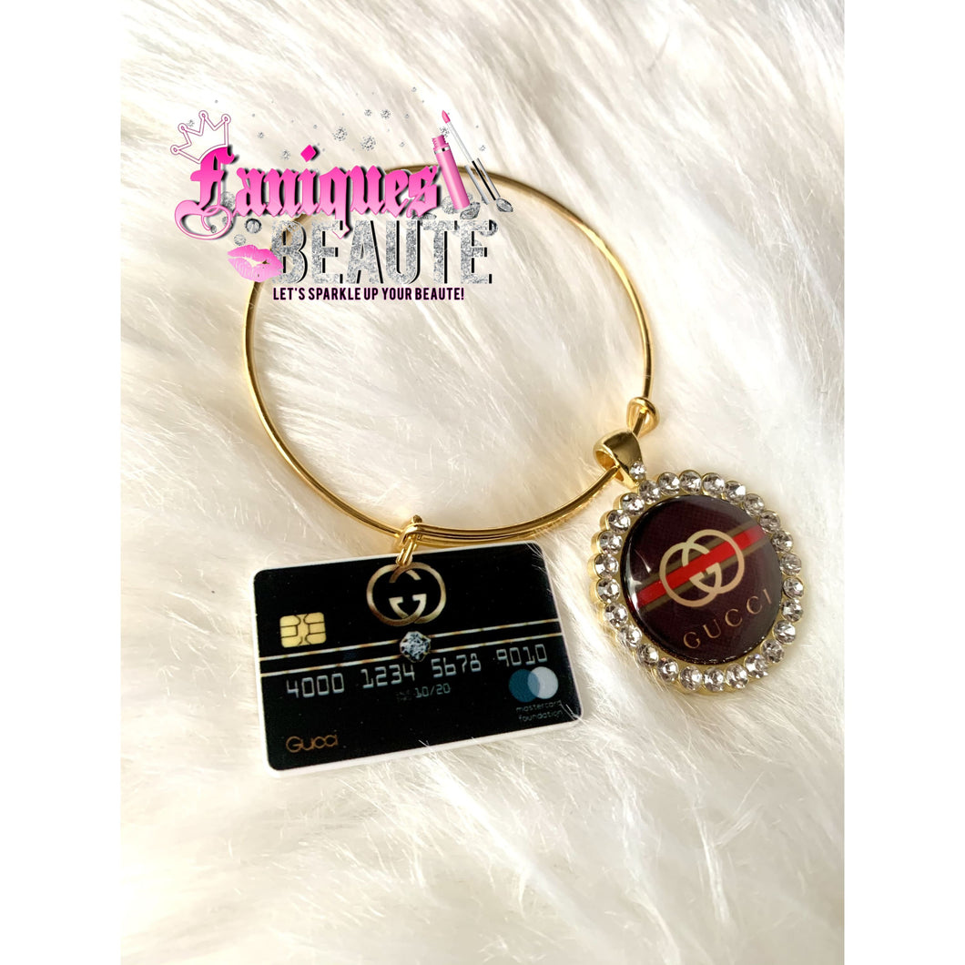 On Gucci ~ Adult Adjustable Bangle Set - Faniques Beaute Emporium