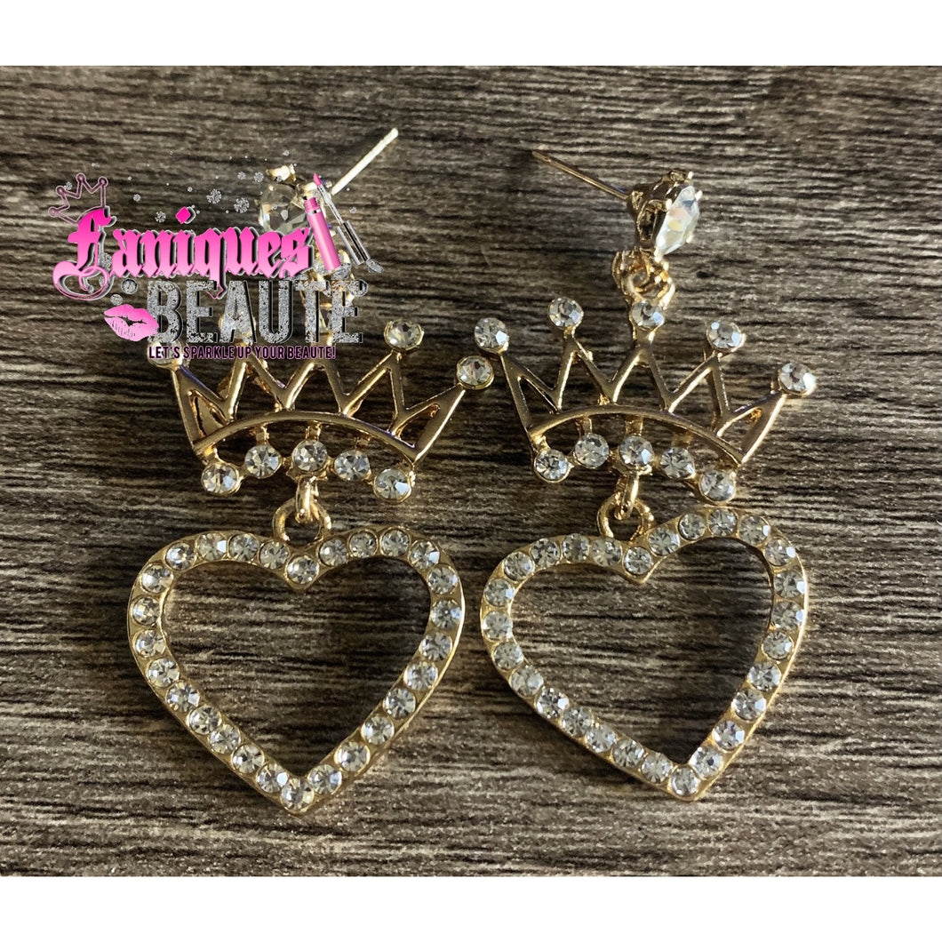Queen of Hearts *comes in gold & silver* - Faniques Beaute Emporium