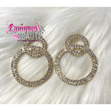 Load image into Gallery viewer, Studded Circles - Fashion Earrings
