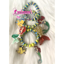 Load image into Gallery viewer, Under the Sea ~ Children's Beaded Stretch Bracelet - Faniques Beaute Emporium