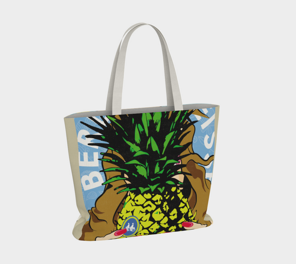 Lemon + Pineapple Tote Bag