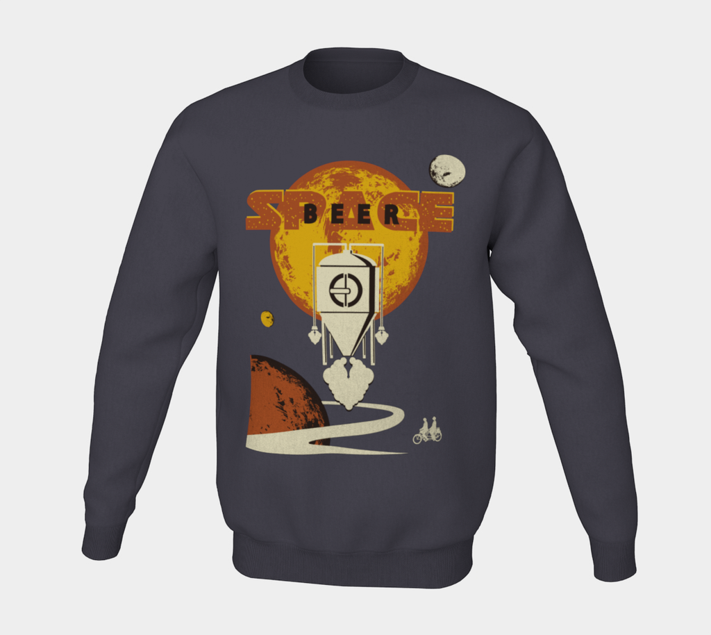 Space Beer Black IPA Unisex Crewneck