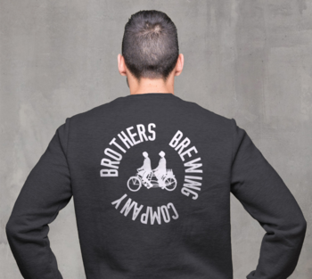Brothers Brewing Circle Logo Unisex Dark Grey Four