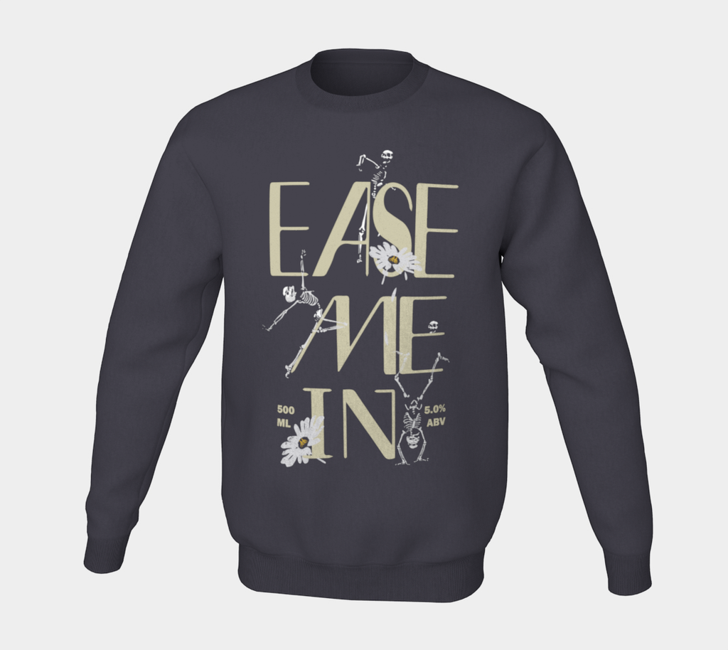 Ease Me In Session Ale Label Crewneck Sweater