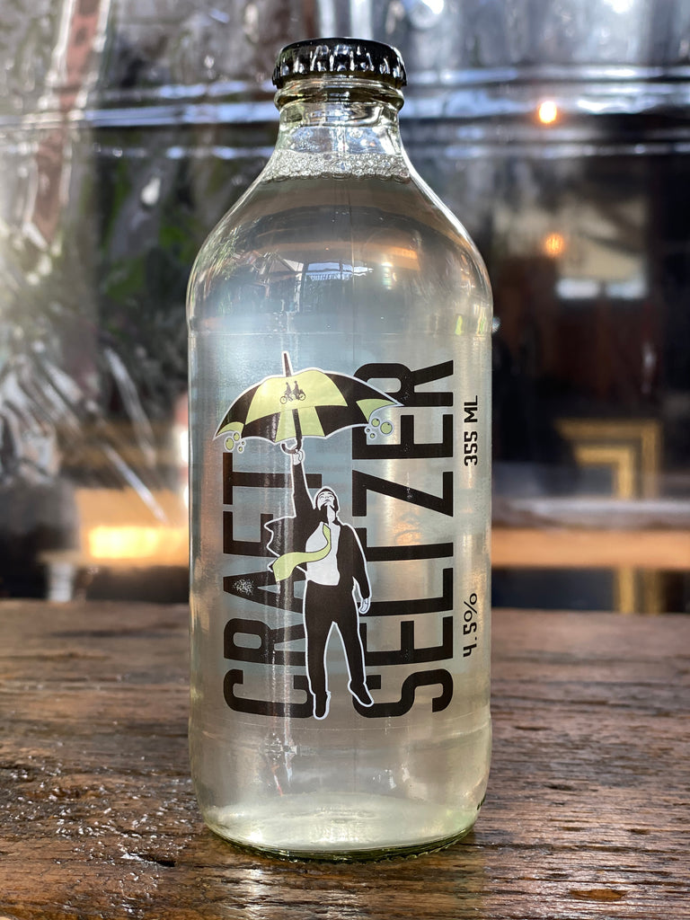 Salted Cucumber Craft Seltzer Bottle