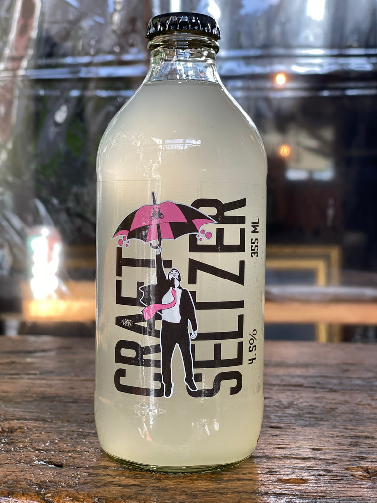 Grapefruit Craft Seltzer Bottle