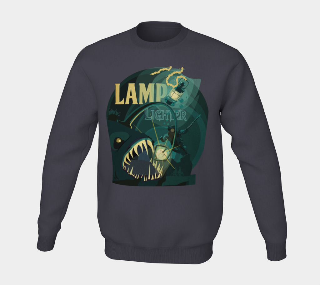 Lamplighter IPA Label Crewneck Sweater
