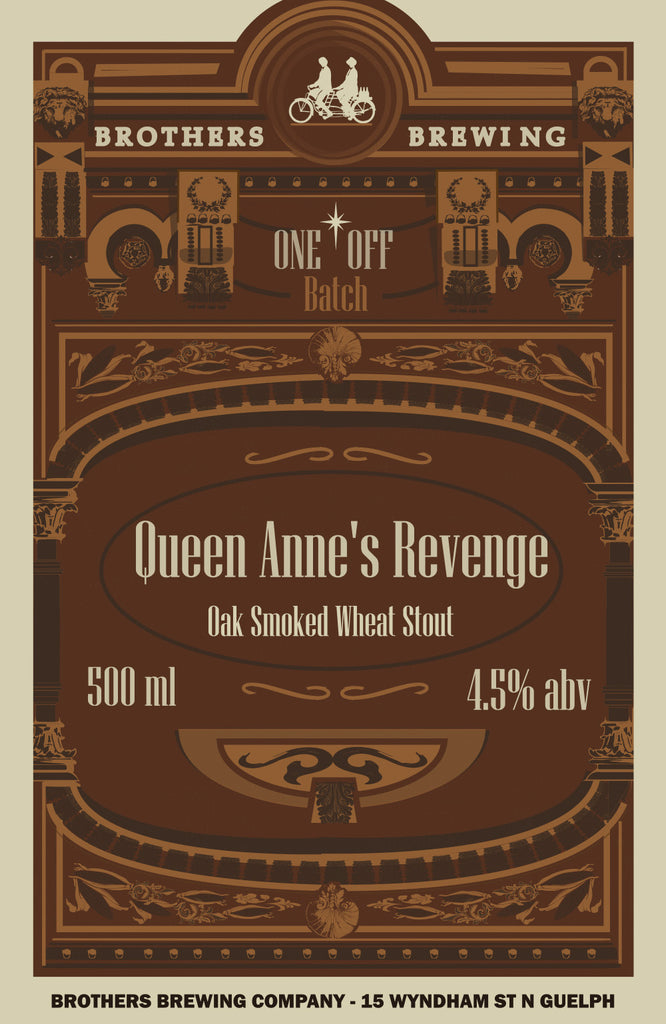 Queen Annes Revenge Stout Label Fine Art Print 2