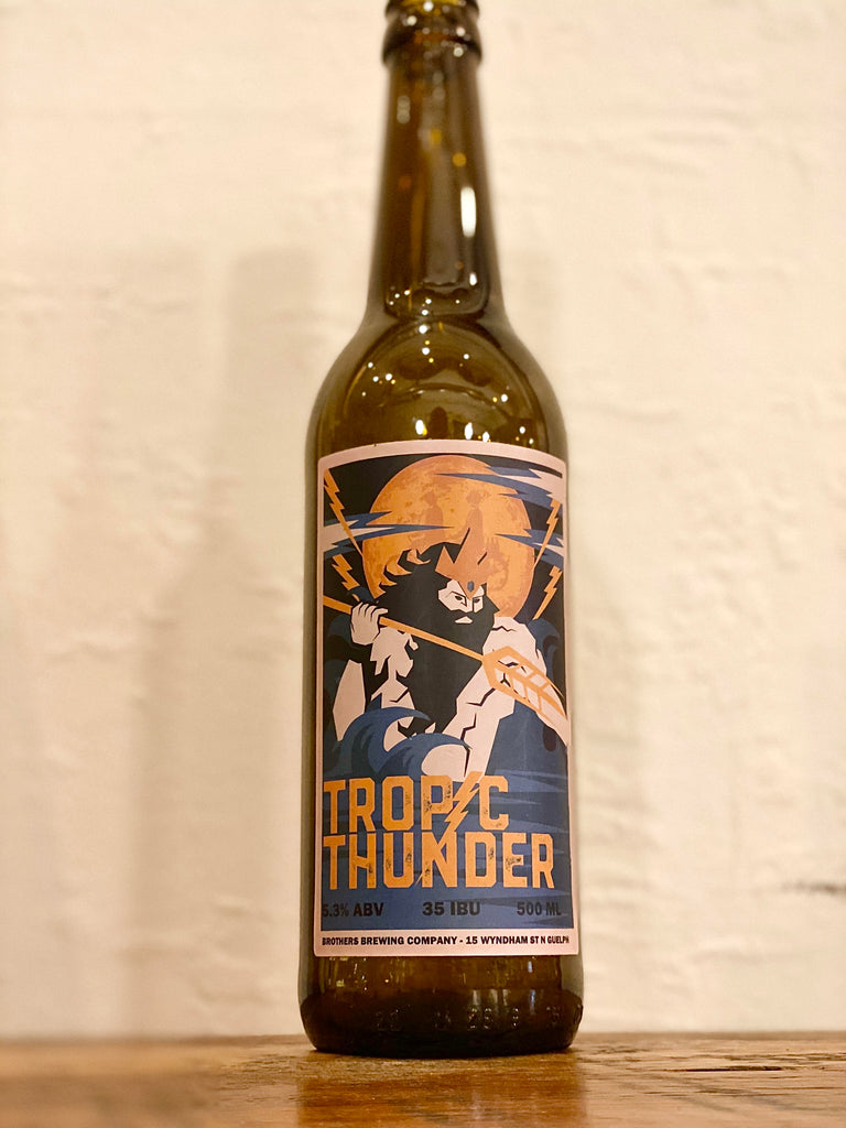 Tropic Thunder Pale Ale Beer Bottle