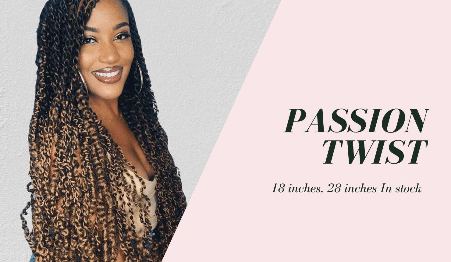 passion twist golden rule hair