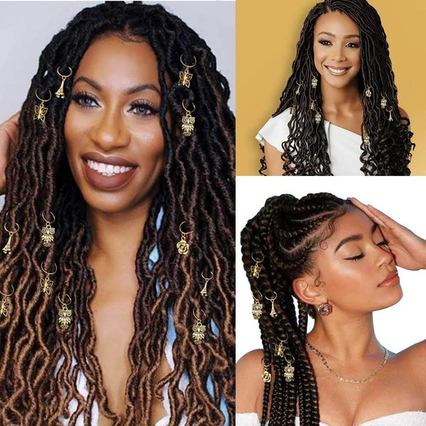 Super-secret Blind Box-Braids Hair Jewelry for Locs - goldenrulehair
