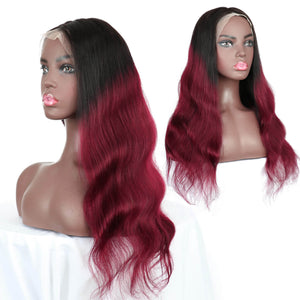 body wave human hair lace front wigs golden rule hair