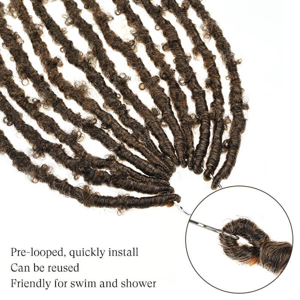 butterfly locs brown golden rule hair