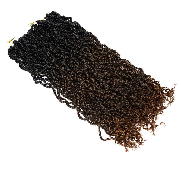 Passion Twist long Crochet Hair 30 inch Chocolate Brown - goldenrulehair