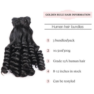double drawn spring roll human hair bundles golden rule hair
