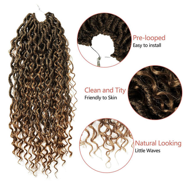 goddess locs crochet hair golden rule hair